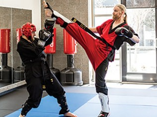 Physical and Internal Strength at Blade & Fist Martial Arts