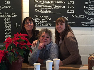 New Owners at Café 116