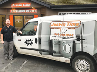 Appliance Repair and New Machines at Just-In Time