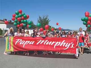 Papa Murphy's Take n' Bake Pizza Celebrates  25 Years in Medford