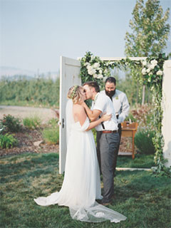 Classic Southern Oregon Weddings at Hillcrest Orchard and RoxyAnn Winery