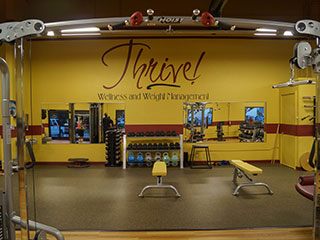 Getting Fit and Healthy at  Thrive Wellness
