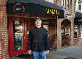 New Owners at Umami Sushi