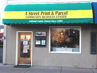 A Community Business Center at A Street Print & Parcel