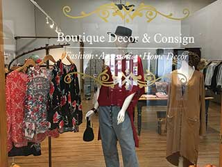 Boutique Decor & Consign Opens Downtown