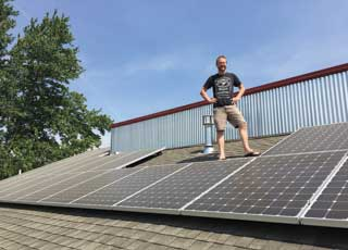 Flywheel Goes Solar
