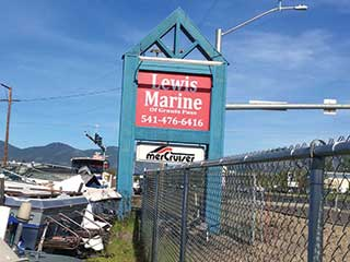 Lewis Marine Now in New Location in Merlin