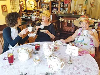 LOVEJOY'S TEA ROOM OPENS IN ASHLAND