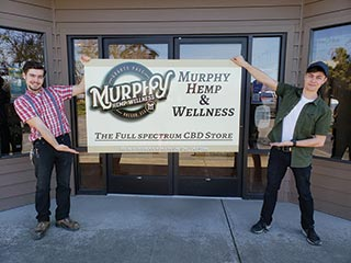 Relief with CBDs from Murphy Hemp Store