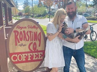 Great Coffee and Cozy Atmostphere at Rogue Valley Roasting Co.