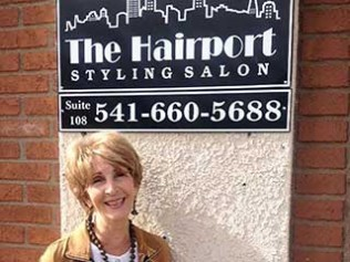 THE HAIRPORT CELEBRATES 24 YEARS IN GRANTS PASS